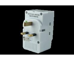 EIGHT 3 Way 13A socket-MP3P2U