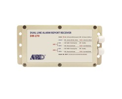 APO/AEI MS-270 ALARM MONITOR STATION Alarm data receiver for PSTN dual phone line used with MS-270 monitoring software - DM-270