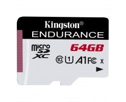 Kingston's High Endurance microSD Card/SD memory card - SDCE/64GB