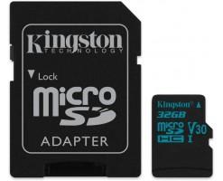 Kingston's Canvas Go!™ microSD card/SD memory card - SDCG2/32GB