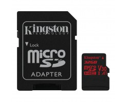 Kingston's Canvas React™ microSD card-SDCR/32GB