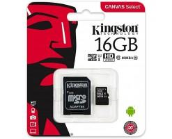 Kingston's Canvas Select™ microSD card-SDCS/16GB