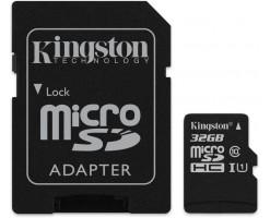 Kingston's Canvas Select™ microSD card-SDCS/32GB