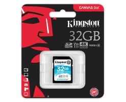 Kingston's Canvas Go!™ SD card-SDG/32GB