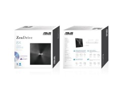 ASUS ZenDrive U7M - ultra-slim portable 8X DVD burner - SDRW-08U7M-U BLK