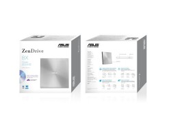 ASUS ZenDrive U7M - ultra-slim portable 8X DVD burner - SDRW-08U7M-U SIL