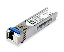 Level One 1.25Gbps Single-mode BIDI SFP Transceiver, 20km, TX 1310nm / RX 1550nm - SFP-9321