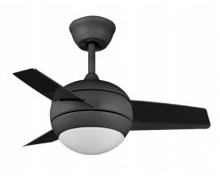 Framtida 27 inches Fan Light/Ceiling Fan Light(Black) - FR-Saturn