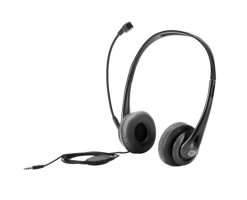 HP Stereo 3.5mm Headset - T1A66AA