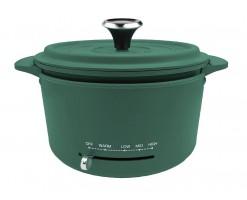Thomson Multi-function Electric Aluminum Pan/Multi-purpose Cooking Die-cast Aluminum Pan Green - TM-MCM002