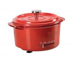 Thomson Multi-function Electric Aluminum Pan/Multi-purpose Cooking Die-cast Aluminum Pan Red - TM-MCM002