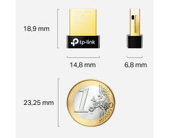 TP-Link Bluetooth 4.0 Nano USB Adapter-UB400