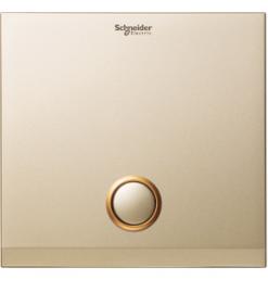 Schneider 1 Gang 2000VA Zigbee Switch Cover Plate, Champagne Gold- UC21SW XCG