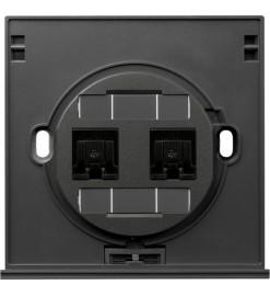 Schneider 2 Gang Tel and Data Socket Module (RJ45) - Cat.6 - UD32TD 000