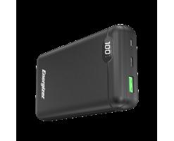 Energizer 20000mAH Power Bank,USB-C 18W PD with LCD - 20000mAh (Black) - UE20003PQ_BK 18W PD